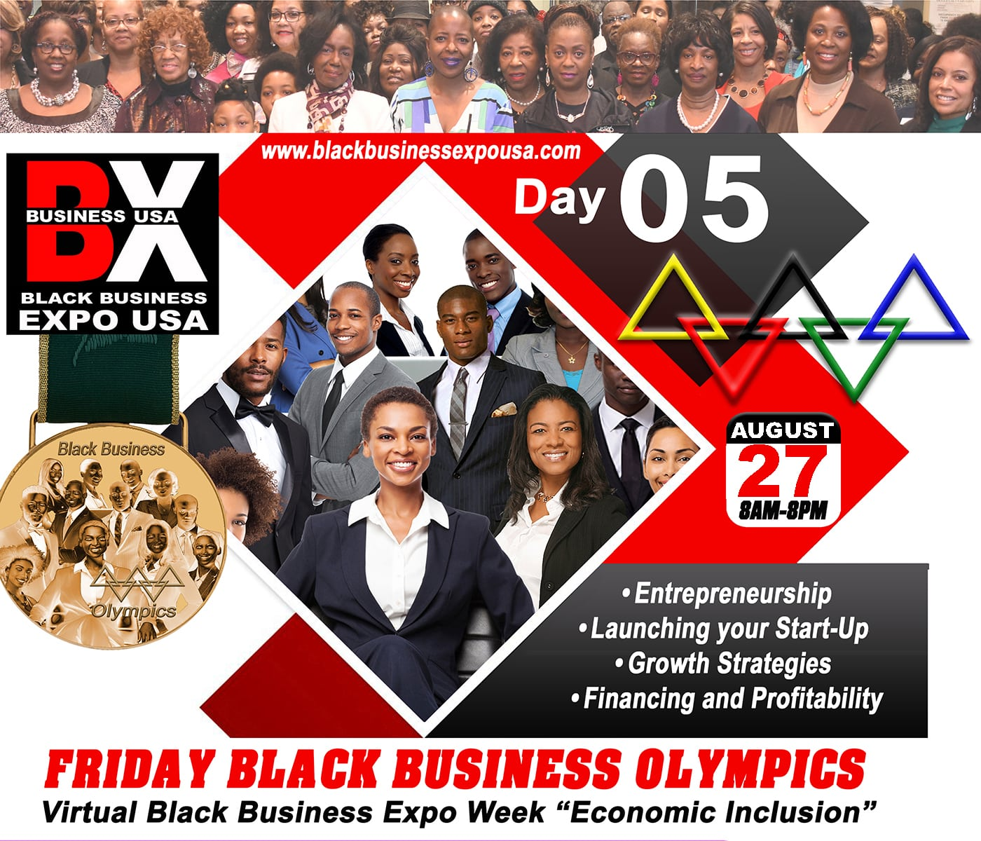 5 FRIDAY The Largest Black Business Expo USA-min